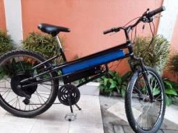 Bicicleta Elétrica 800W Bateria de lítio $2.400 Parcelo no Cartão