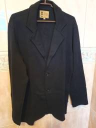 Blazer Moleton West Coast Tam P - Preto - Regular Fit - Novo - Original