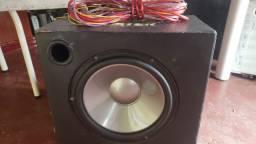 Caixa de som com módulo 2300 wats