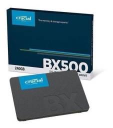 [p.entrega] hd ssd 240gb sata3 crucial bx500 3d nand 540mb/s notebook e desktop lacrado