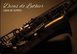 Luthier Instrumentos De sopro Manutenção Curso em Video
