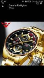 Relógio Nibosi importado 2375