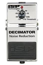 Pedal de guitarra - ISP Decimator - noise gate