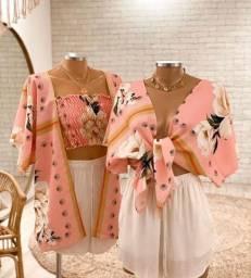 Top + kimono