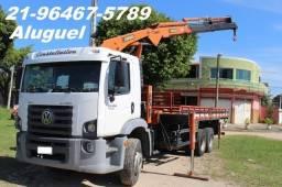 Aluguel de caminhão Munck e Caminhão Caçamba