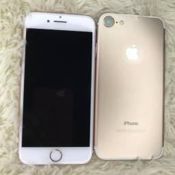 iphone 7 normal 128 GB de vitrine bateria 100%