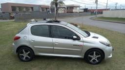 Peugeot com teto 207