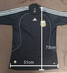 Camisa Argentina Away 2008/2009 M