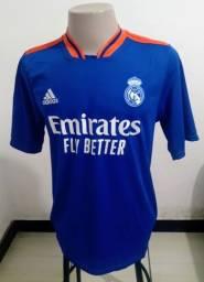 Camisa Adidas Real Madrid Home lançamento 2021