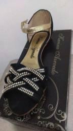 Sapatos feminino semi novos
