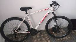 Vendo bicicleta alumínio preço de desapego mesmo