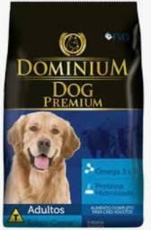 Promoção Dominium Dog 25kg R$ 120