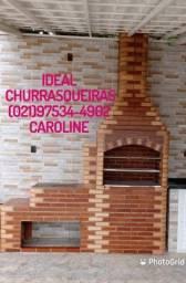 Ideal Churrasqueiras Colonial Gourmet / QUALIDADE E DEDICAÇÃO!!!!