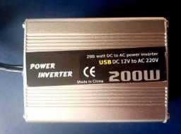 Inversor 200w 12v Para 220v Conversor Tomada