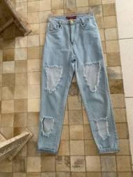 Calça Jeans Wid Leg