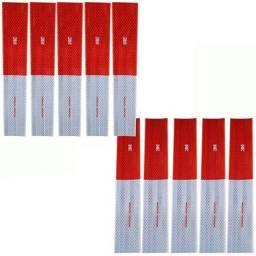 Kit com 10 faixas refletivas 3M