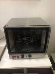Forno elétrico giratório turbo para pizza cone 220v
