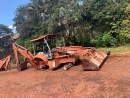 Retro escavadeira Fiat FB 80.3 e FB 80.2