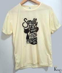 Camisetas femininas (tamanho P)