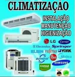 Título do anúncio: Limpeza e manutenção de Central de ar condicionado