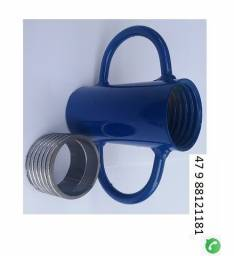 Kit copo e caneca para estronca de ferro ajustavel p Laje