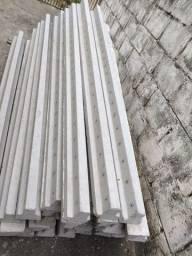 Estacas de cimento, 2.20 e 2.80 de altura