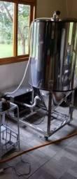 Fermentador cerveja artesanal inox 240 litros úteis