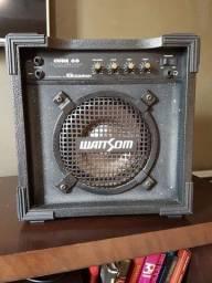 Caixa amplificada Wattson Cube 60 violão guitarra microfone