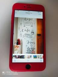 iPhone 6s plus 256g 78% bateria + fone original,caixa e carregador