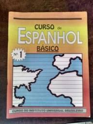 Curso de Espanhol (livros e fitas Cassete)
