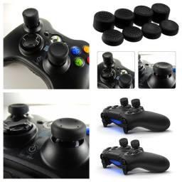 8 Botões Protetores Analógico Controle Ps4 Xbox