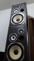 caixas de som gradiente impecáveis
