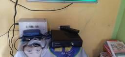 Xbox 360 400 pra vender logo