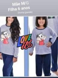 Kit pijama Mãe e Filha