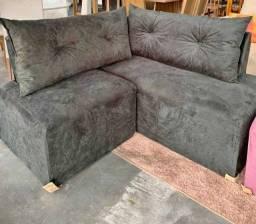 Mini sofá de canto 2 meses de uso igual a novo retira em Cidreira-rs