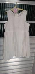Vestido Plissado  40,00