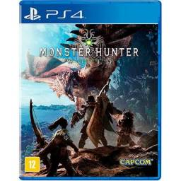 Moster hunter worlds ps4