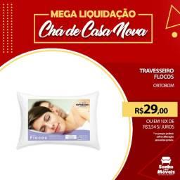 Título do anúncio: Promoção Imperdível!!!! Travesseiro Flocos -Ortobom