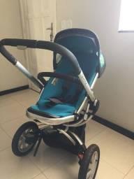 Carrinho de Bebê Quinny Buzz + Bebê Conforto + Adaptadores