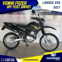 Título do anúncio: Lander 250 2017 Cinza