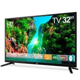 Tv Led 32 Hq Hqtv32 Resolução Hd Com Conversor Digital 3 Hdmi 2 Usb Recepção Digital