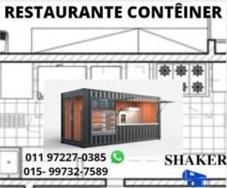 Restaurante contêiner