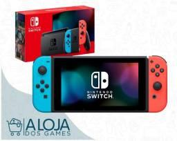 Nintendo Switch Novo V2 - Garantia / Entrega Grátis / Troco / Parcelo