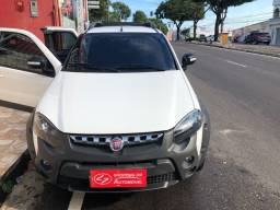 Fiat strada flex cd adventure único dono aceito troca 36221004  *