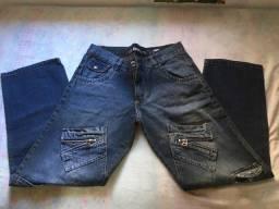 Calça jeans masculina número 44