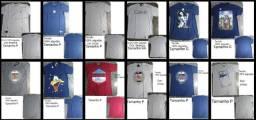 23 camisas masculinas novas de tamanhos variados