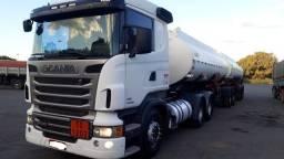 Scania R440 6x4 bi trem