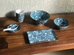 Conjunto de Porcelana Petisqueira
