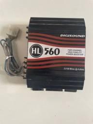 Amplificado de som hl 560