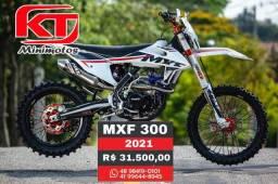 Moto MXF 300cc, a pronta entrega, moto de trilha, offroad